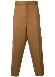 Jil Sander dropped crotch trousers