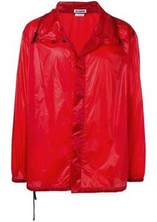 Jil Sander dropped shoulder rain jacket