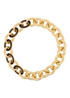 Jil Sander Eclipse short chain necklace