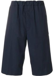 Jil Sander elasticated knee-length shorts
