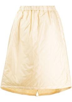 Jil Sander elasticated waist A-line skirt