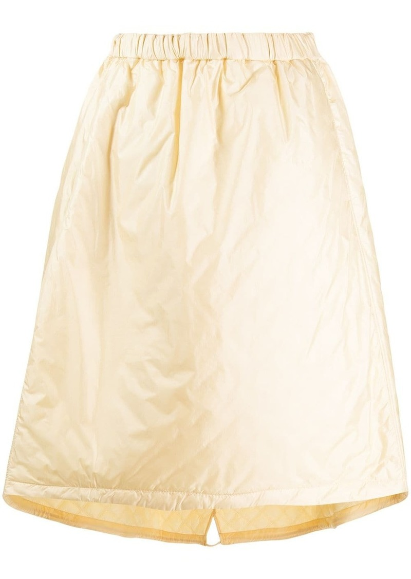 Jil Sander elasticated waist A-line skirt