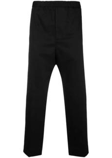Jil Sander elasticated waist chinos