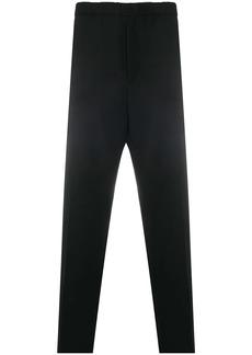Jil Sander elasticated-waist straight trousers
