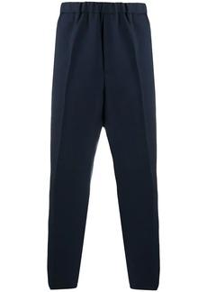 Jil Sander elasticated waist tapered trousers