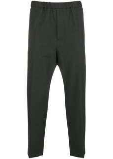 Jil Sander elasticated waist trousers
