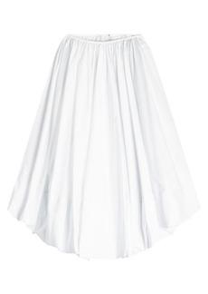 Jil Sander Elisir Cotton Skirt