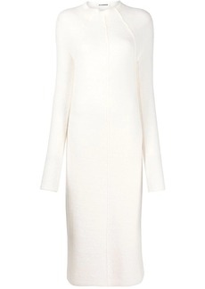 Jil Sander exposed seam dress