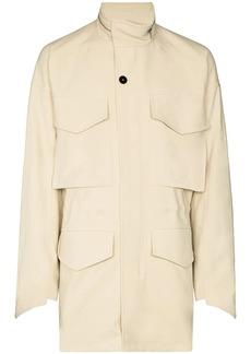 Jil Sander oversized pocket lightweight jacket