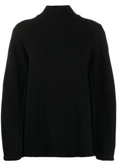 Jil Sander fine-knit cape-style jumper