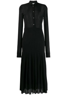 Jil Sander fine knit midi dress