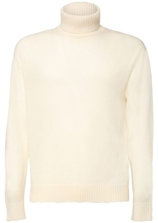 Jil Sander Fine Wool Turtleneck Sweater