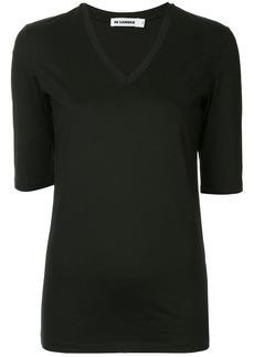 Jil Sander fitted V-neck T-shirt