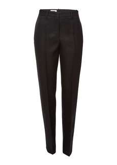 Jil Sander Fitz Wool Pants with Zipped Ankles
