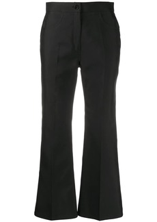 Jil Sander flared cropped trousers