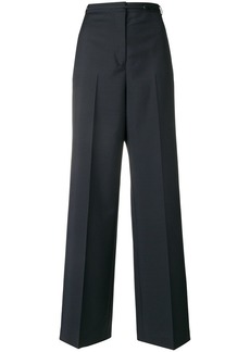 Jil Sander flared high-waist trousers