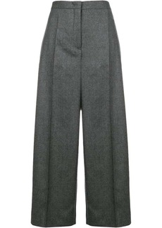 Jil Sander flared tailred trousers