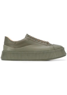 Jil Sander flatform low-top sneakers