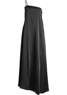 Jil Sander Floor-Length Satin Dress