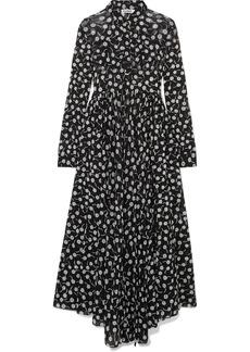 Jil Sander Floral-print chiffon maxi dress