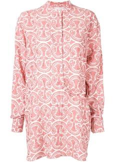 Jil Sander floral print shirt