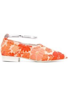 Jil Sander floral printed ballerina shoes
