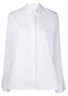 Jil Sander folded buttoned cuff shirt
