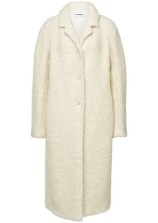 Jil Sander Frejus Coat with Virgin Wool and Mohair