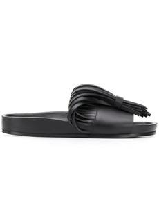 Jil Sander fringed sandals