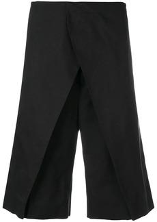 Jil Sander front panel shorts