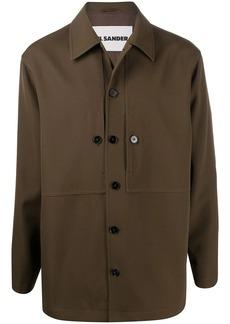 Jil Sander gabardine shirt jacket