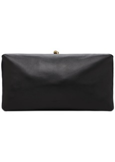 Jil Sander Goji Soft Leather Clutch