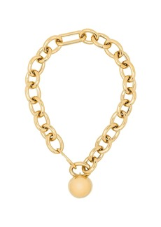 Jil Sander gold-plated dome chain necklace