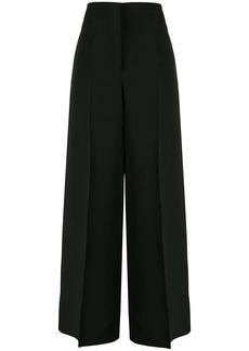 Jil Sander high-rise pressed wide-leg trousers