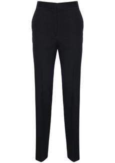 Jil Sander High Waist Wool Gabardine Pants
