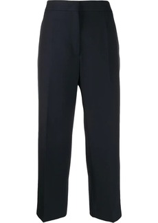 Jil Sander high waisted cropped trousers