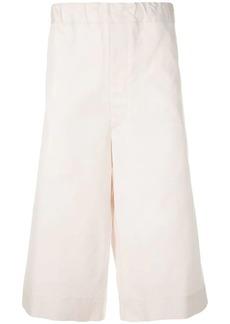 Jil Sander high-waisted track shorts