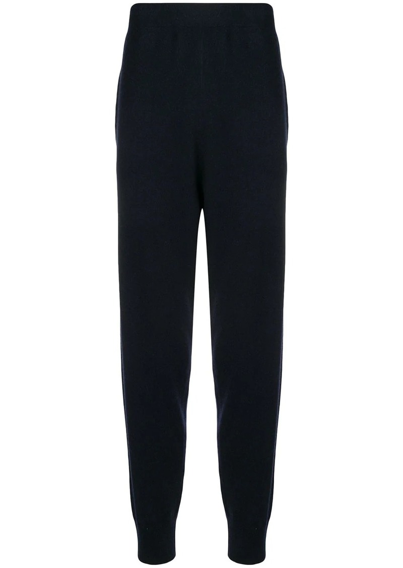 Jil Sander high waisted track trousers