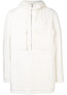 Jil Sander hooded padded coat