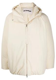Jil Sander hooded padded jacket