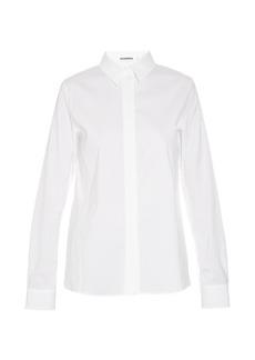 Jil Sander Adele stretch-cotton shirt