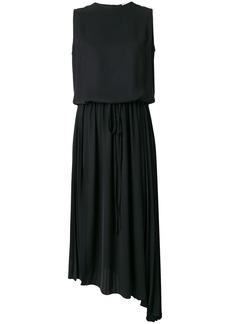 Jil Sander asymmetric hem dress - Black