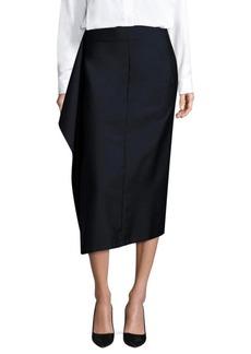 Jil Sander Asymmetrical Skirt