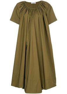 Jil Sander balloon dress - Green