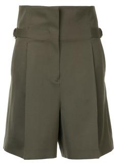 Jil Sander belted waist shorts - Green