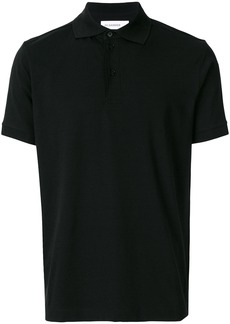 Jil Sander button polo shirt - Black