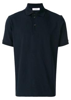 Jil Sander button polo shirt - Blue
