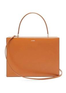 Jil Sander Medium leather top-handle bag