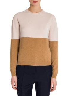 Jil Sander Cashmere Colorblock Pullover