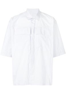 Jil Sander chest pocket shirt - White